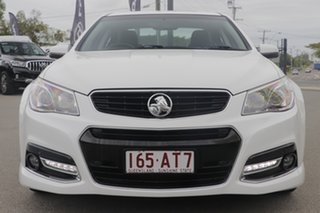 2014 Holden Commodore VF MY14 SV6 Storm Heron White 6 Speed Sports Automatic Sedan