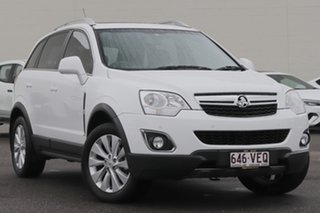 2013 Holden Captiva CG MY13 5 LT White 6 Speed Sports Automatic Wagon.