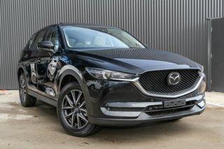 2020 Mazda CX-5 KF4WLA GT SKYACTIV-Drive i-ACTIV AWD Jet Black 6 Speed Sports Automatic Wagon