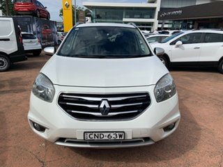 2013 Renault Koleos H45 Phase II Bose Special Edition White 1 Speed Constant Variable Wagon
