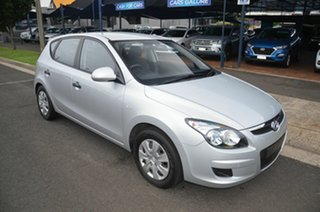 2012 Hyundai i30 GD Active Silver 6 Speed Automatic Hatchback