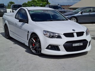 2015 Holden Special Vehicles Maloo Gen-F MY15 R8 White 6 Speed Sports Automatic Utility.
