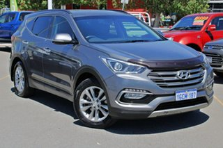 2016 Hyundai Santa Fe DM3 MY16 Elite Grey 6 Speed Sports Automatic Wagon.