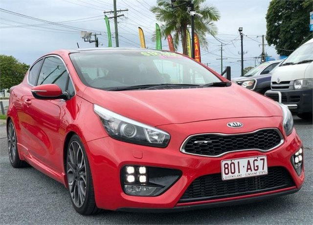 Used Kia Pro_cee'd JD GT Archerfield, 2014 Kia Pro_ceed JD GT Red 6 Speed Manual Hatchback