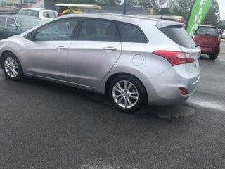 2013 Hyundai i30 TOURER ACTIVE Silver Automatic Hatchback.