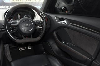 2015 Audi RS 3 8V MY16 Sportback S Tronic Quattro Grey 7 Speed Sports Automatic Dual Clutch