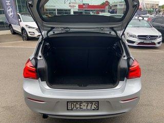 2015 BMW 120i F20 LCI Sport Line Glacier Silver 8 Speed Automatic Hatchback