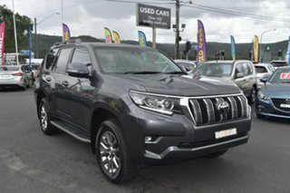 2019 Toyota Landcruiser Prado GDJ150R Kakadu Grey 6 Speed Sports Automatic Wagon