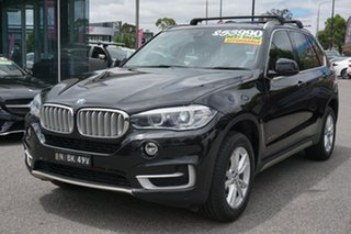2015 BMW X5 F15 xDrive25d Black 8 Speed Automatic Wagon.
