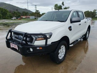2015 Ford Ranger PX MkII XLS Double Cab Cool White 6 Speed Sports Automatic Utility