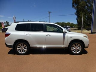 2012 Toyota Kluger GSU45R MY12 Altitude (4x4) 7 Seat Crystal Pearl 5 Speed Automatic Wagon