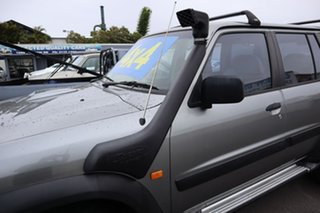 2004 Nissan Patrol GU III MY2003 ST Silver 4 Speed Automatic Wagon