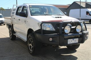 2011 Toyota Hilux KUN26R MY12 SR (4x4) 5 Speed Manual Dual Cab Chassis.