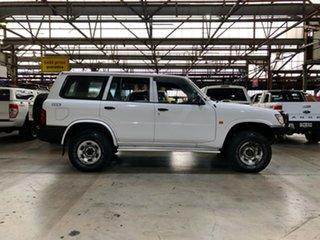 1998 Nissan Patrol GU DX5 White 5 Speed Manual Wagon