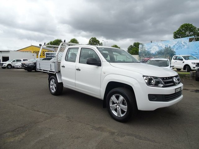 Used Volkswagen Amarok 2H MY17 TDI420 4MOTION Perm Core Nowra, 2016 Volkswagen Amarok 2H MY17 TDI420 4MOTION Perm Core Candy White 8 Speed Automatic Cab Chassis