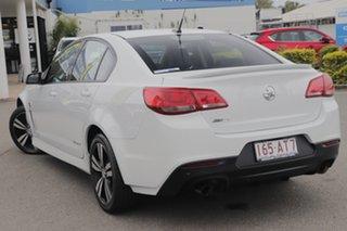 2014 Holden Commodore VF MY14 SV6 Storm Heron White 6 Speed Sports Automatic Sedan.