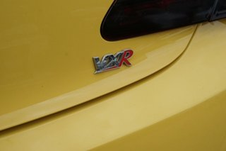 2015 Holden Astra PJ MY15.5 VXR Yellow 6 Speed Manual Hatchback