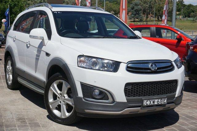 Used Holden Captiva CG MY14 7 AWD LTZ Phillip, 2014 Holden Captiva CG MY14 7 AWD LTZ White 6 Speed Sports Automatic Wagon