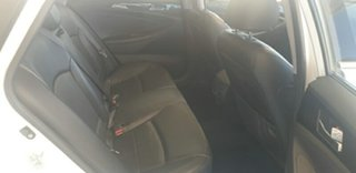 2011 Hyundai i45 YF MY11 Premium White 6 Speed Sports Automatic Sedan