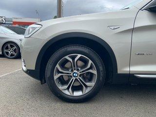 2015 BMW X3 F25 MY15 xDrive20d Mineral Silver 8 Speed Automatic Wagon.