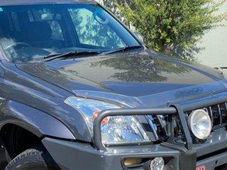 2003 Toyota Landcruiser Prado GRJ120R GXL Grey 4 Speed Automatic Wagon