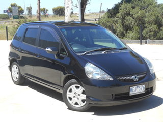 2007 Honda Jazz GD VTi Black 7 Speed Constant Variable Hatchback.