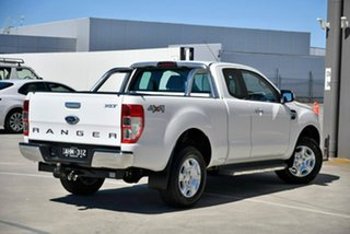 2016 Ford Ranger PX MkII XLT Super Cab White 6 Speed Sports Automatic Utility