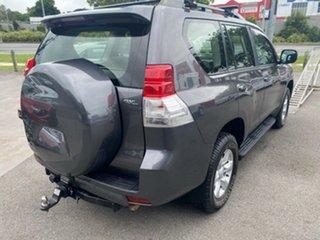2010 Toyota Landcruiser Prado KDJ150R GXL Magnetic Grey 5 Speed Sports Automatic Wagon.