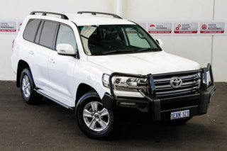 2015 Toyota Landcruiser VDJ200R GXL Glacier White 6 Speed Sports Automatic Wagon.