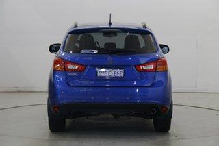 2015 Mitsubishi ASX XB MY15 XLS 2WD Lightning Blue 6 Speed Constant Variable Wagon