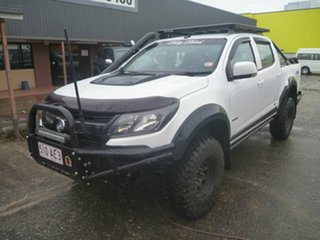 2019 Holden Colorado RG MY20 LS-X Pickup Crew Cab White 6 Speed Sports Automatic Utility.