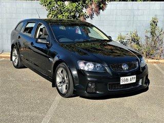 2012 Holden Commodore VE II MY12 SS Sportwagon Black 6 Speed Sports Automatic Wagon.