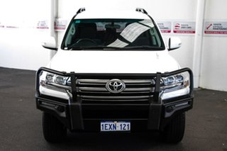 2015 Toyota Landcruiser VDJ200R GXL Glacier White 6 Speed Sports Automatic Wagon