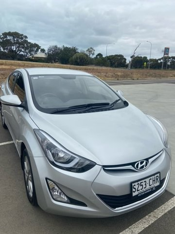 Used Hyundai Elantra MD3 Trophy Victor Harbor, 2014 Hyundai Elantra MD3 Trophy Silver 6 Speed Sports Automatic Sedan