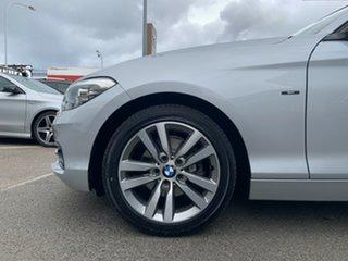 2015 BMW 120i F20 LCI Sport Line Glacier Silver 8 Speed Automatic Hatchback.