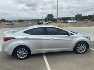 2014 Hyundai Elantra MD3 Trophy Silver 6 Speed Sports Automatic Sedan