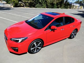 2017 Subaru Impreza G5 MY18 2.0i-S CVT AWD Pure Red 7 Speed Constant Variable Sedan
