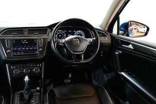 2016 Volkswagen Tiguan 5N MY17 140TDI DSG 4MOTION Highline Blue 7 Speed Sports Automatic Dual Clutch