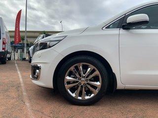 2015 Kia Carnival YP Platinum White 6 Speed Automatic Wagon.