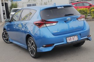 2016 Toyota Corolla ZRE182R SX S-CVT Blue Gem 7 Speed Constant Variable Hatchback.