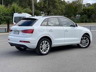 2013 Audi Q3 TDI White Sports Automatic Dual Clutch Wagon