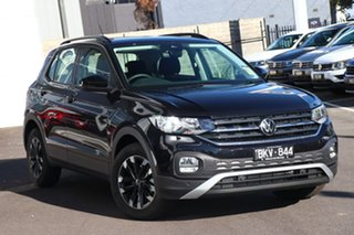 2020 Volkswagen T-Cross C1 MY21 85TSI DSG FWD Life Black 7 Speed Sports Automatic Dual Clutch Wagon