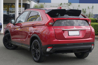 2019 Mitsubishi Eclipse Cross YA MY20 Black Edition 2WD Red Diamond 8 Speed Constant Variable Wagon.
