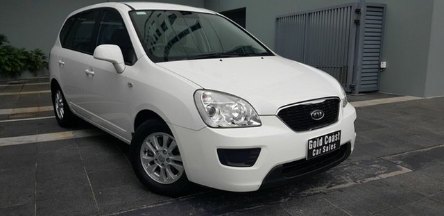 Used Kia Rondo RP SI Southport, 2013 Kia Rondo RP SI White 6 Speed Automatic Wagon