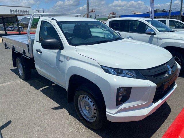 New Mitsubishi Triton MR MY21 GLX Gladstone, 2020 Mitsubishi Triton MR MY21 GLX White 6 Speed Sports Automatic Cab Chassis