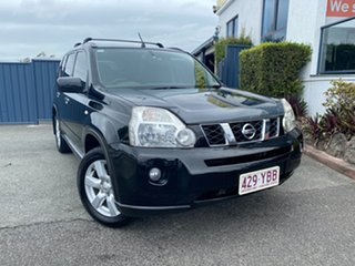 2008 Nissan X-Trail T31 ST-L Black 1 Speed Constant Variable Wagon.