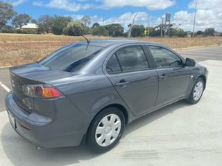2011 Mitsubishi Lancer CJ MY11 ES Silver 6 Speed Constant Variable Sedan