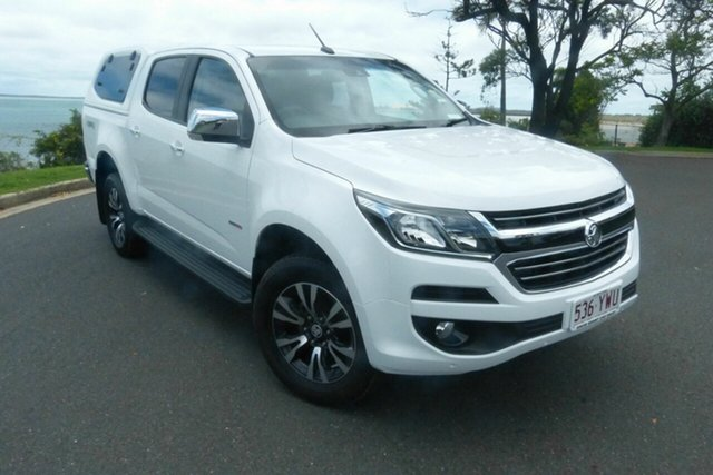 Used Holden Colorado RG MY19 LTZ Pickup Crew Cab Gladstone, 2019 Holden Colorado RG MY19 LTZ Pickup Crew Cab White 6 Speed Sports Automatic Utility