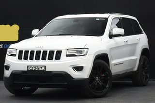 2014 Jeep Grand Cherokee WK MY2014 Laredo White 8 Speed Sports Automatic Wagon.