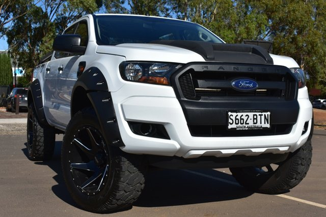 Used Ford Ranger PX MkII XL St Marys, 2017 Ford Ranger PX MkII XL White 6 Speed Sports Automatic Utility